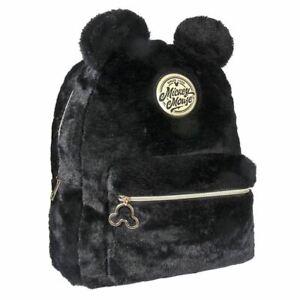 Mickey Mouse Peluche Mode Sac à Dos Avec 3D Oreilles