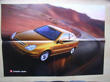 Citroen Xsara Faltprospekt (Poster) / Brochure / Depliant, D, 9.2000