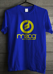 MOOG synthesizer Logo T Shirt Tshirt
