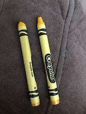 used Dandelion Crayola crayon