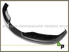 HM Style Carbon Fiber Front Bumper Spoiler Lip For 12-15 Standard 320i 328i 335i