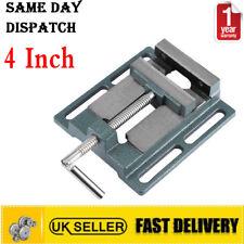 "4"" 100mm Vice Vise Drill Press Machine Work Bench Pillar Clamp Jaw UK"