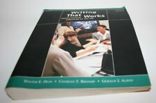 Writing That Works Communicating Effectively on the Job Walter Oliu Free Shippin
