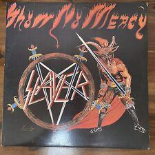 Slayer - Show No Mercy Korea LP Vinyl With Insert 1993