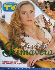 SORRISI 12 1997 Barbara De Rossi Syria U2 Nathaniel Parker Romina Mondello Goggi