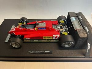 GP Replicas Ferrari 126 C2 #27 Gilles Villeneuve 1982 1/12 GP12-10A