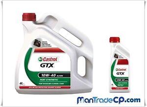 5 Liter Motoröl Castrol GTX 10W40 Acea A3/B3/B4 VW Audi Fiat Mercedes Kia