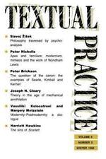 Textual Practice Vols. 6, Issue 3 (1992, Paperback)