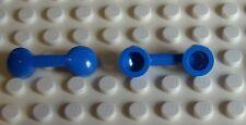 Lego 2x Telefonhörer blau (6190) Neu Radio Handle, Phone Handset blue
