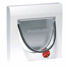 Staywell PetSafe 919EF Classic Manual 4 Way Locking Pet Door Cat Flap White