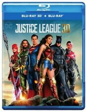 Justice League [New Blu-ray 3D] With Blu-Ray, Dolby