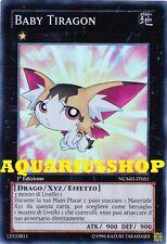 Yu-Gi-Oh! Baby Tiragon NUMH-IT051 SuperRara in ITA Fortissima Carta Zexal  Nuova