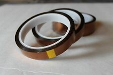"45 Rolls 3/4"",Adhesive Hi-Temp Heat Resistant Soldering Polyimide (Kapton) tape"