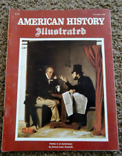 American History Illustrated Nov 1978, Cover by Richard Calvin Woodville