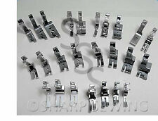 25 PRESSER FOOT SET - HIGH SHANK - fits SINGER 241, 251, 281 SINGLE NEEDLE