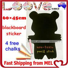 Bear Removable Blackboard Chalkboard Decal Vinyl Wall Sticker Paper Home Nursery