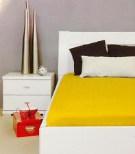 1 Stück Spannbetttuch Bassetti gold Spannbettlaken Bettlaken 90 x 200 cm 100%BW