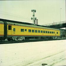 Orig 120mm Color Railroad Negative - Union Pacific UP Passenger Car #5484