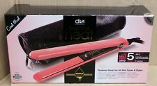 Diva Professional Styling Feel The Heat Hair Straightener Coral Blush
