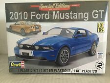 +++ Revell US Monogram 1/25 2010 Ford Mustang GT Coupe Plastic Model Kit 85-4272