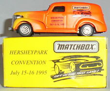 MJ7 Matchbox - Toy Show - 1939 Chevy Van - Hershey, PA 1995
