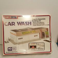 Life-like Model Railroad Building Kit (Car Wash) HO scale #1361 SEALED