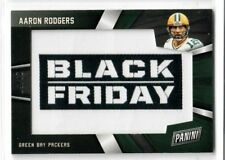 AARON RODGERS 2018 Panini Black Friday Football JUMBO RELIC PATCH #29/50 PACKERS