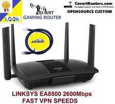NEW Linksys EA8500 2600Mbps WiFi 4 Port Gigabit DDWRT ANTI HACKER VPN ROUTER