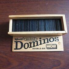 Toysmith Mini Dominoes Double Six 8+ Boys & Girls Wood Storage Box