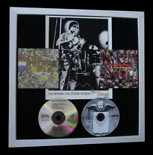 STONE ROSES+IAN BROWN+SIGNED+FRAMED+BE ADORED=100% AUTHENTIC+EXPRESS GLOBAL SHIP