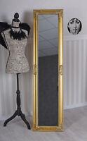 Standspiegel Goldspiegel Ganzkörperspiegel Ankleidespiegel Garderobenspiegel