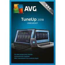 AVG TuneUp - Unbegrenzt 2018 * 2 Jahre * PC Unlimited * Deutsche Lizenz
