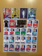 LOTE 38 CROMOS STICKERS MATCH ATTAX 2016-17