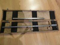 Be ROCH Jauge de profondeur à talon à vernier 0-550mm avec embase de 350 mm