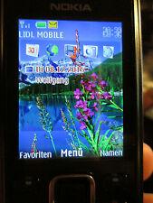 Nokia 6300 negro simfrei CD-ROM Super aceptar Gebr 65 e