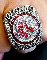 2018 BOSTON RED SOX World Series Championship Ring 18k GOLD PLATED Sz.11 *USA*