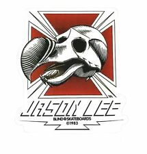 "BLIND / HERITAGE ""DoDo Skull"" Skateboard Sticker 11cm JASON LEE Camper Hawk"