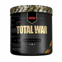 Redcon1 Total War - Pre Workout - 30 Servings - Newly Formulated (Peach Mango)