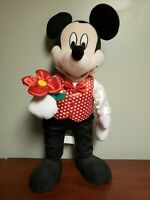 Vintage Mickey Mouse 2 ft Door Greeter Valentines Day Disney