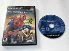 Spider-Man Friend or Foe Sony Playstation 2 PS2 Game Disc w/ Case