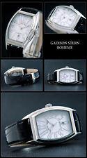 Hombre Diseño Reloj SERIE boheme-sport&elegant schnee-weisses Esfera NUEVO