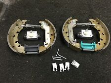 FOR FORD FIESTA 1.4 ZETEC TDCi BRAKE SHOES FITTING KIT ADJUSTERS + CYLINDERS NEW