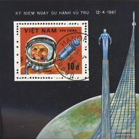 Vietnam Block16 (kompl.Ausg.) gestempelt 1983 Interkosmosprogramm