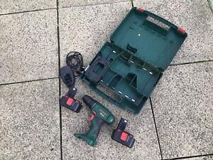 Bosch PSR 14,4 Cordless Drill Driver 14.4V + 2x 1.2Ah Batteries/Charger/Case (J)