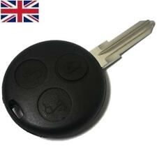 Smart Car 3 Button Remote Key Fob Case Fits City Roadster Fortwo Forfour Coupe