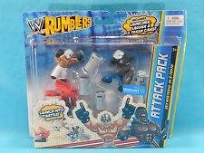 WWE Rumblers Attack Pack Rey Mysterio vs R-Truth 2 Pack Walmart Exclusive 2011