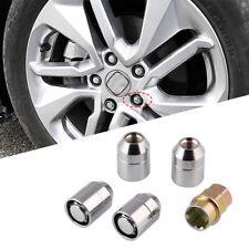 Wheel Nut Lug Anti Theft Security Lock 4Pcs M12x1.5 Universal Steel Alloy