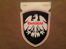 Aufkleber - Eintracht Frankfurt, 70/80er ca. 9 x 11,5 cm Autoaufkleber