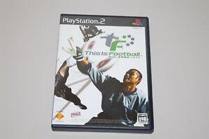 This is Football Soccer Sekai Senki 2003 Japan Sony Playstation 2 PS2 game