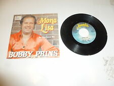 "BOBBY PRINS - Mona Lisa - Dutch 2-track 7"" Juke Box Vinyl Single"